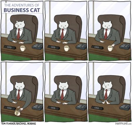 고양이가내상사라면