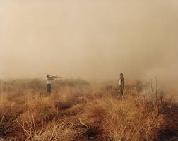 Richard Misrach_man with rifle